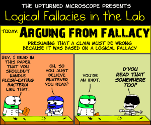 Arguing from Fallacy