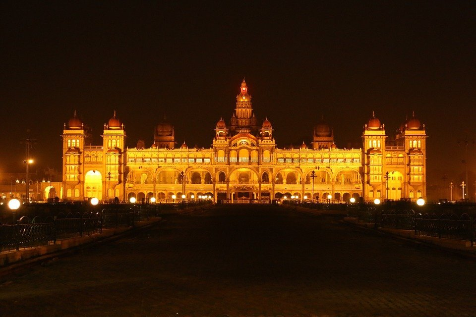 The year in review - Mysore Palace