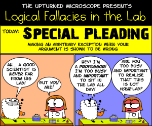 Special Pleading