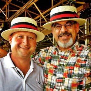 Rick Hulse and Joseph Paris – Saratoga Racetrack