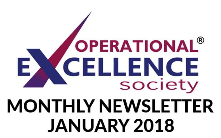 Operational Excellence by Design eNewsletter – January 2018