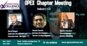 Monthly Egypt Chapter Meeting
