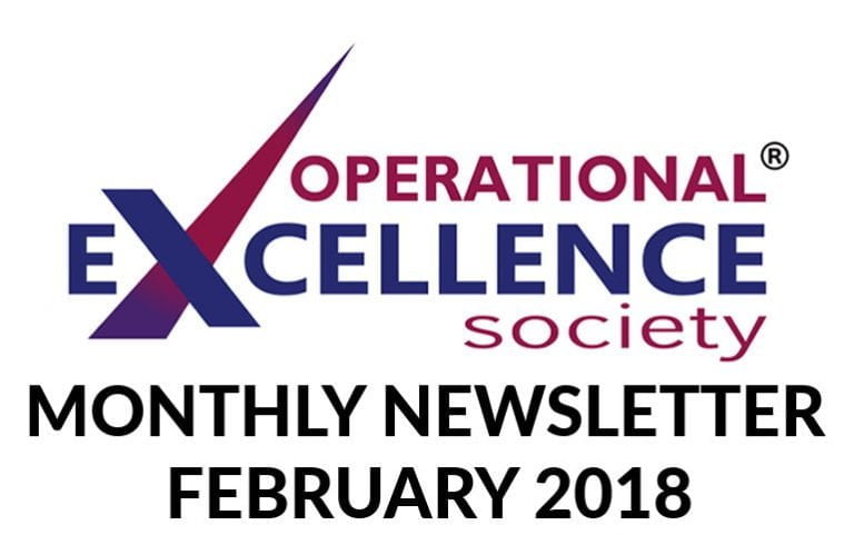 Operational Excellence by Design eNewsletter – February 2018