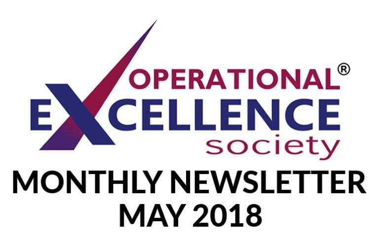 Operational Excellence by Design eNewsletter – May 2018