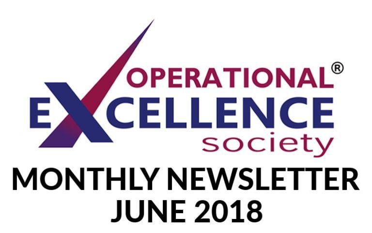 Operational Excellence by Design eNewsletter – June 2018