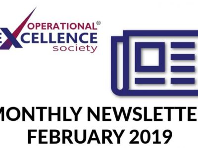 Operational Excellence by Design eNewsletter – February 2019