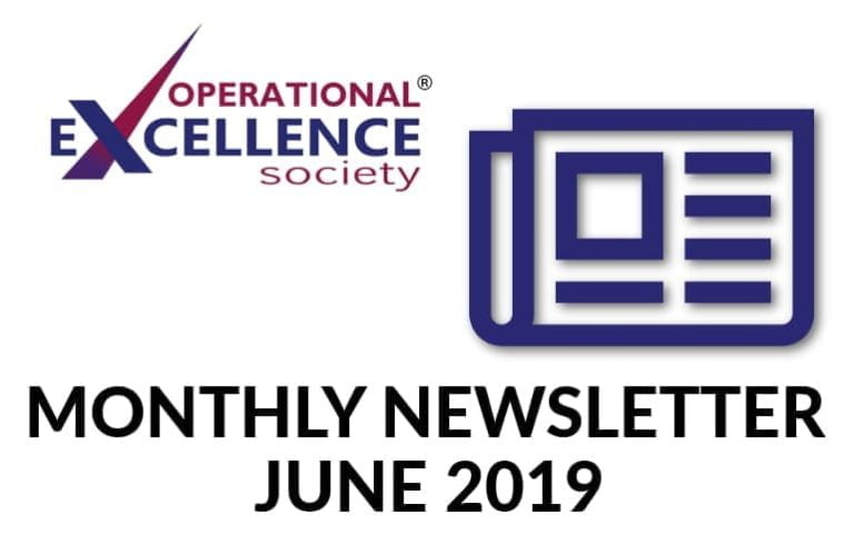 Operational Excellence by Design eNewsletter – June 2019