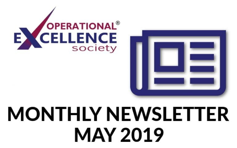 Operational Excellence by Design eNewsletter – May 2019