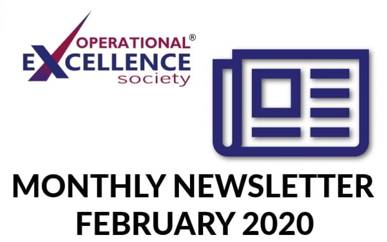 Operational Excellence by Design eNewsletter – February 2020