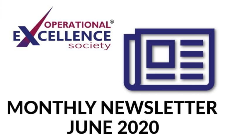 Operational Excellence by Design eNewsletter – June 2020