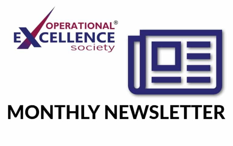Operational Excellence by Design eNewsletter – January 2021