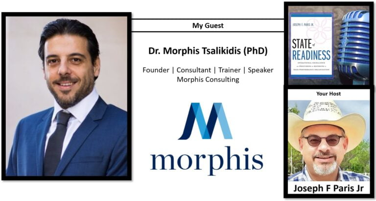 State of Readiness: Dr. Morphis Tsalikidis (PhD)